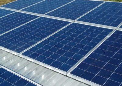 Instalação de 9 placas fotovoltaicas