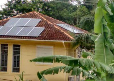 Instalação de placas fotovoltaicas em Juquehy