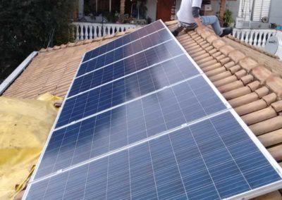 Paineis Fotovoltaicos na Casa Verde