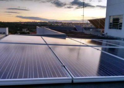 Geração de energia solar com sistema fotovoltaico