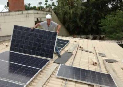 Sistema Fotovoltaico Guarujá - SP
