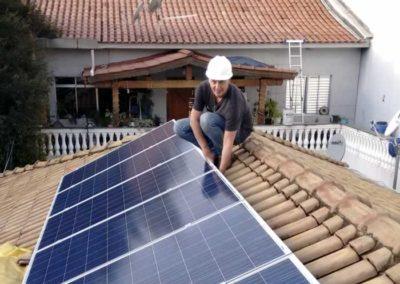 Sistema Energia Solar na Casa Verde