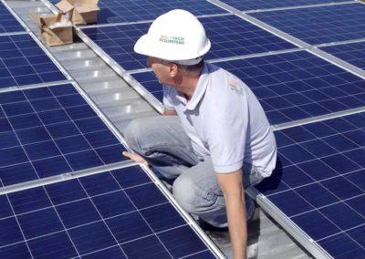 Sistema Fotovoltaico Conectado a Rede em Poá - SP