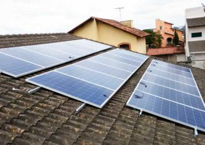 Sistema Fotovoltaico Conectados a Rede - SBC