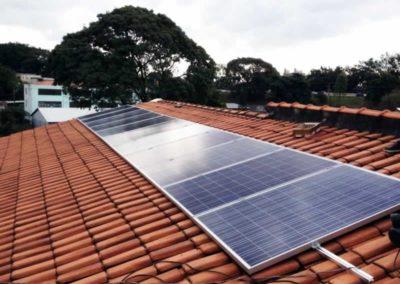 Sistema Fotovoltaico Conectado à Rede - Butantã