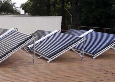 Aquecimento solar no Jardim Aeroporto