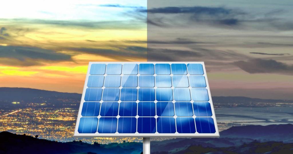 O sistema de energia solar funciona nos dias nublados?